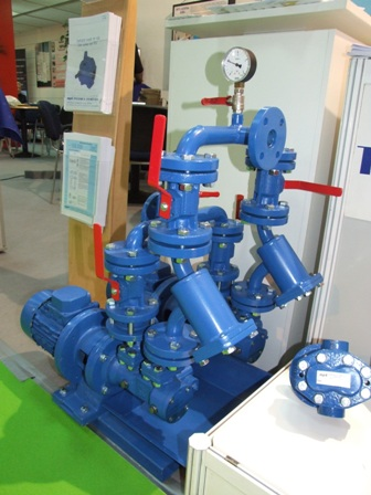 Pump station in our exhibition booth
